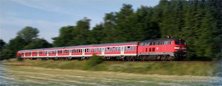 Eisenbahnmedia Diesellokomotive Br 218 Die Maschine Teil 4 Einsatz Www Eisenbahnmedia De
